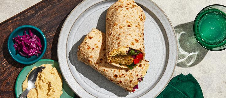 Falafel & Hummus Lavash