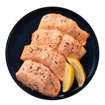 roasted salmon (serves 4)