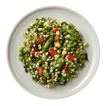 Spring Pea & Asparagus Salad (serves 2)