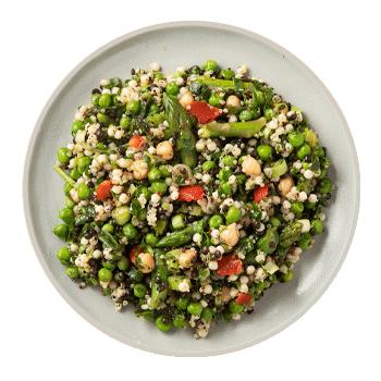 Spring Pea & Asparagus Salad (serves 4)