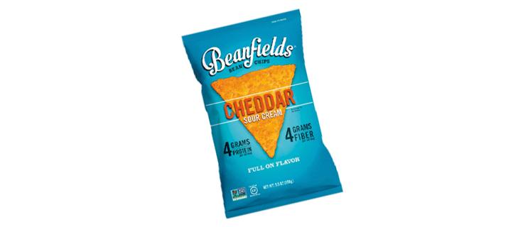 beanfields, cheddar sour cream bean chips