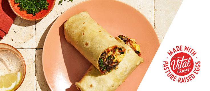 monica's breakfast burrito