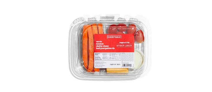 Veggies & Dip Snack Pack